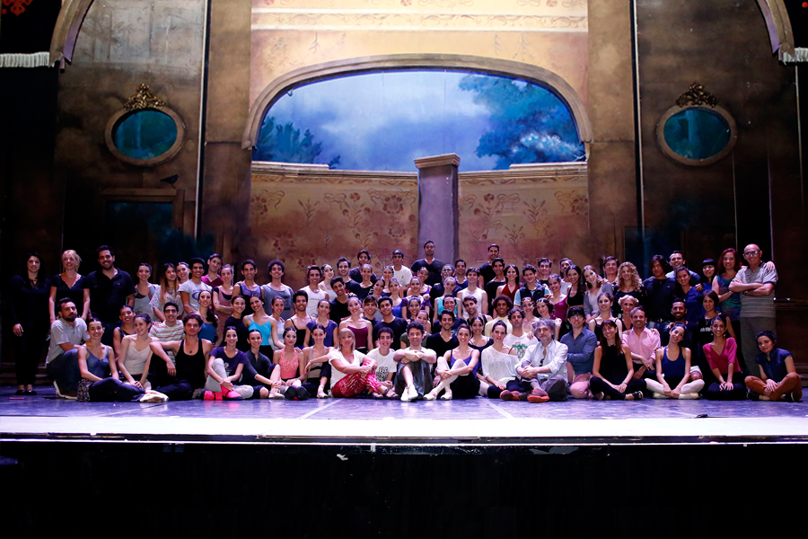 Imagen de todo el equipo de Danza