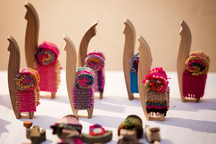 Imagen ilustrativa de adornos de madera