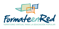 Sitio asociado: Formate en Red. Territorio virtual para la educación popular.