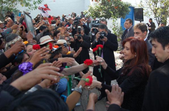 La Presidenta reconoció la Declaración de la Independencia en lengua Aymará en Tucumán