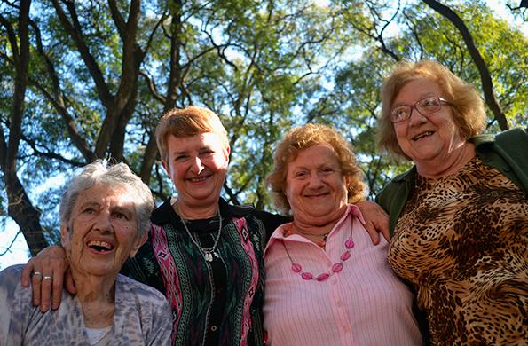 Se entrevistó a 4.656 adultos mayores de localidades argentinas de 2 mil y más habitantes.
