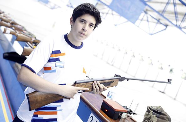 Ezequiel sueña con representar al país en competencias internacionales.