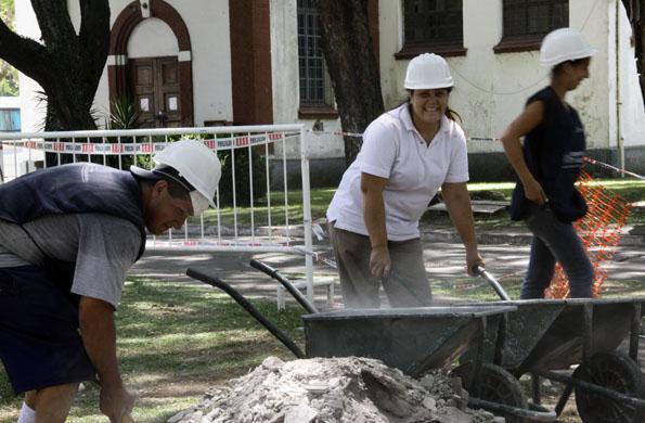 Ingreso Social con Trabajo promueve la solidaridad y el trabajo colectivo.
