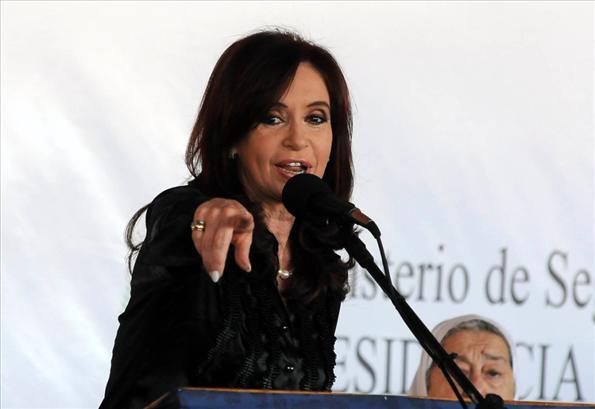 La construcción contó con la colaboración de la Fundación Madres de Plaza de Mayo.
