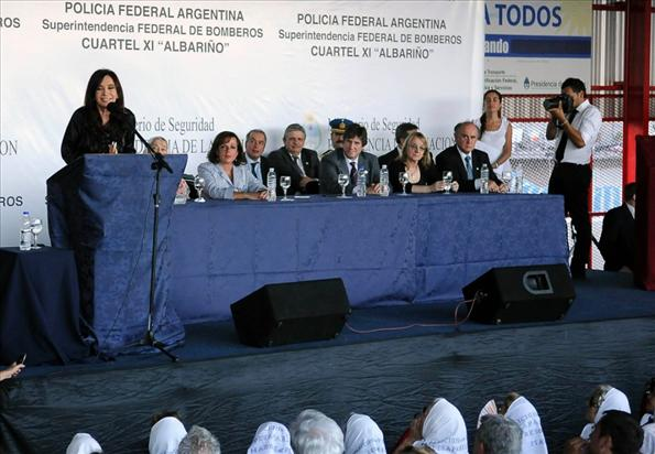 """Alicia Kirchner remarcó que """"durante todo este tiempo, el Estado nacional ha estado presente """""""