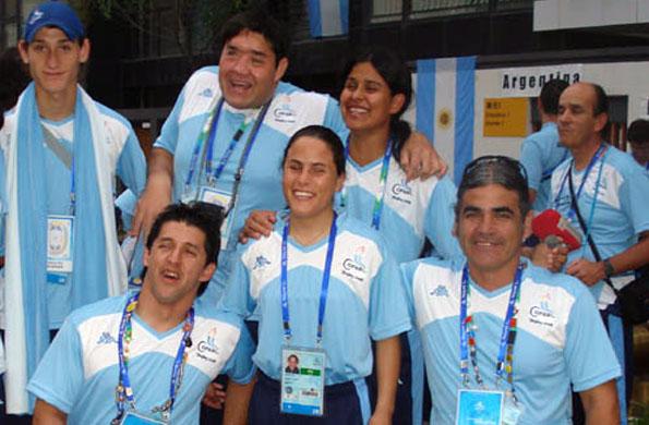 La lanzadora de disco es la única mujer argentina que ganó una medalla de bronce en Beijing 2008.