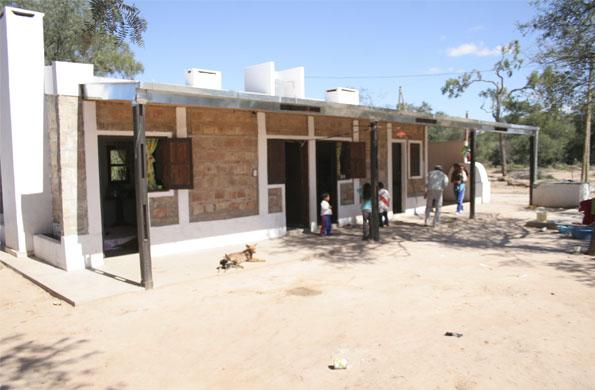 Este tipo de vivienda promueve mejores condiciones para la salud de los habitantes de Salta y Chaco.