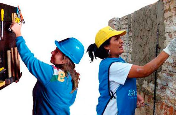 Ellas Hacen se centrará en la construcción de ciudadanía urbana en barrios emergentes.