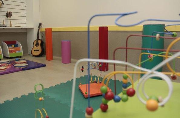 Imagen ilustrativa del interior del Centro de Desarrollo Infantil.
