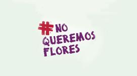 Imagen No queremos flores