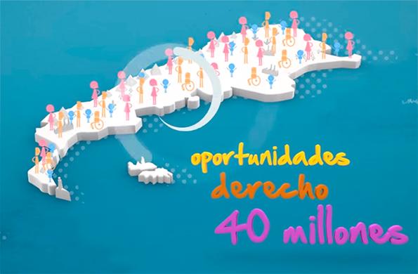 Brindamos oportunidades para los 40 millones de argentinos.