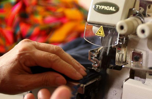 La confección de las prendas es cuidadosamente trabajada.