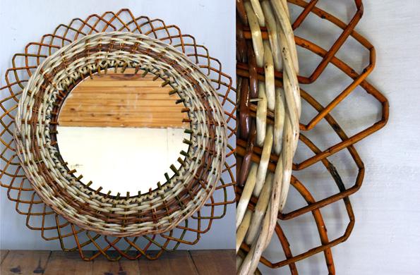 Mimbrería Tellez fabrica canastas, sillas, sillones, cortinas y distintos objetos de decoración.