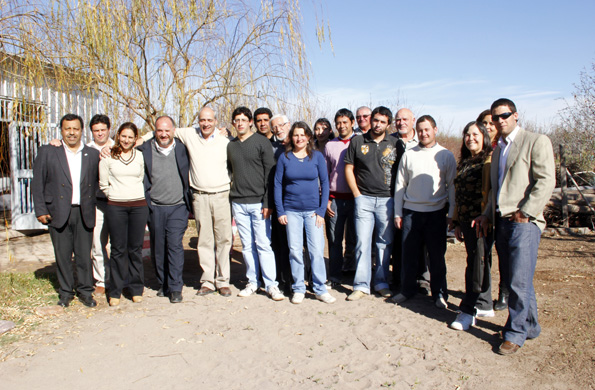 Esta asociación de pequeños productores está integrada por más de 20 personas.