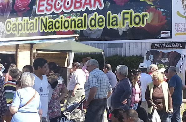 Más de 65 mil personas ya concurrieron a esta muestra de Escobar.