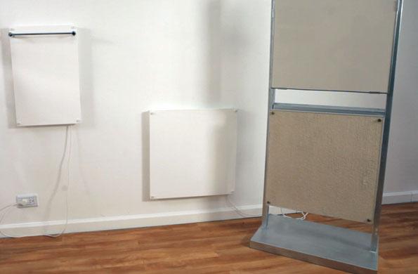 Inti Coop produce paneles calefactores eléctricos de bajo consumo.