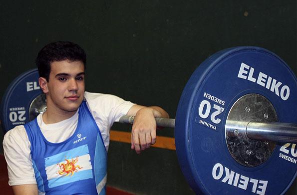Con sólo cuatro meses de entrenamiento, Villamarín obtuvo la medalla de plata.
