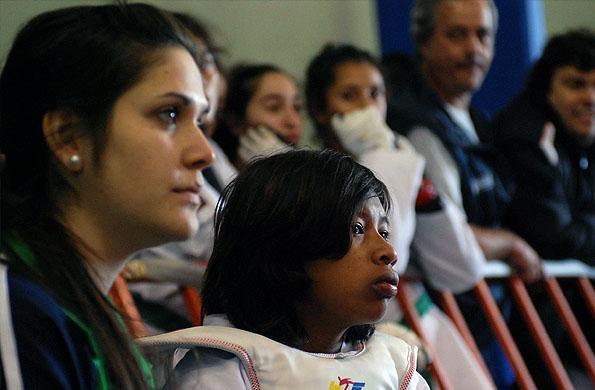 Remigia es la primer niña de una comunidad originaria en participar de esta competencia.