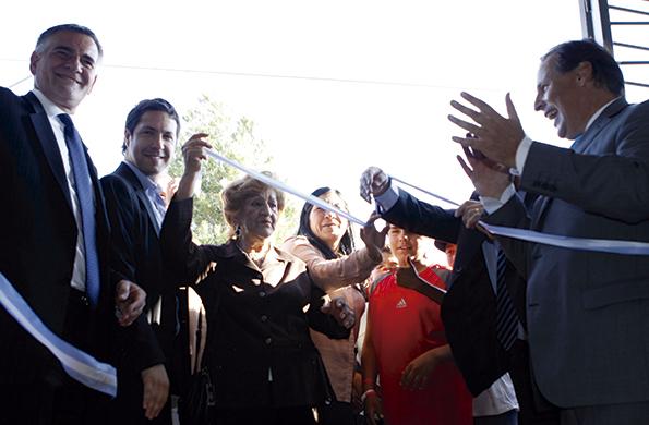 Participó del acto, el secretario de Coordinación y Monitoreo Institucional, Carlos Castagneto.