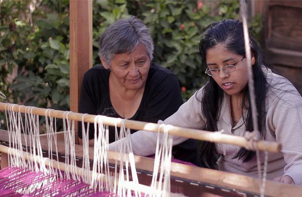Muspay es un proyecto colectivo del que participan varias familias del norte argentino.