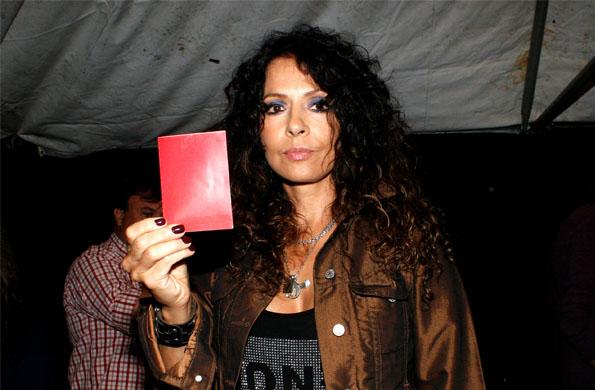La actriz y cantante Patricia Sosa se unió a la campaña que impulsa el Consejo Nac. de las Mujeres.