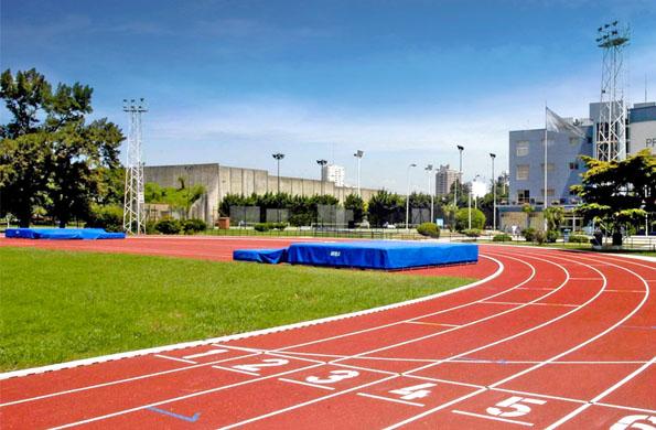 Pista de atletismo del Centro Nacional de Alto Rendimiento Deportivo.