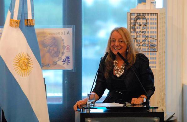 La ministra alicia Kirchner inauguró hoy la muestra mediante teleconferencia