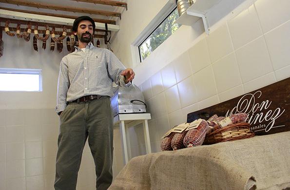 Pablo Martínez el titular del emprendimento puso en prácticas las recetas de su tío.
