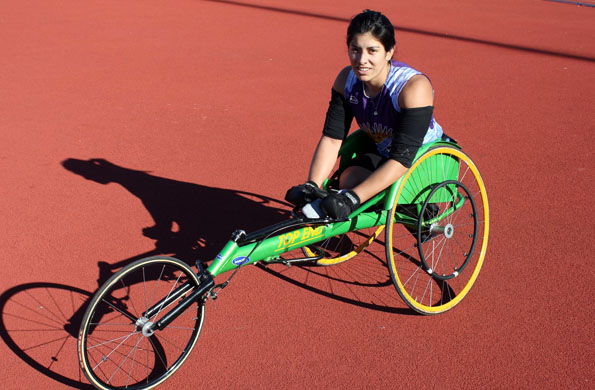 La deportista Jara, en 2013 fue medalla de oro en el Open de San Pablo.