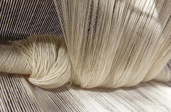 Materia prima usada para el trabajo del telar.