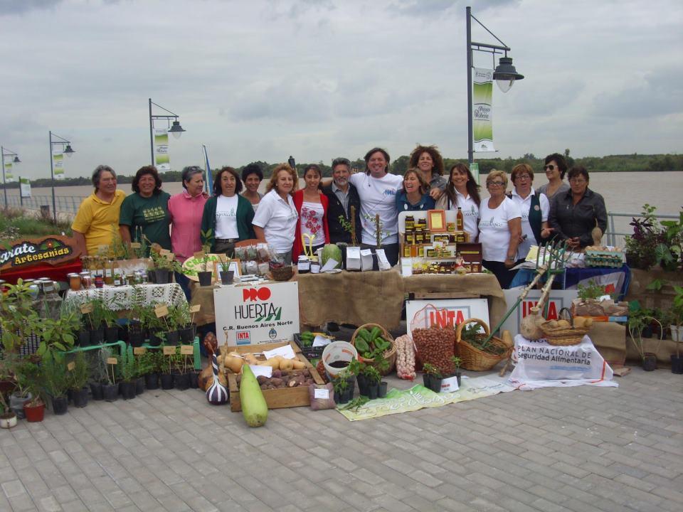 Se realizó la Fiesta del Huevo y la Verdura en Zárate.