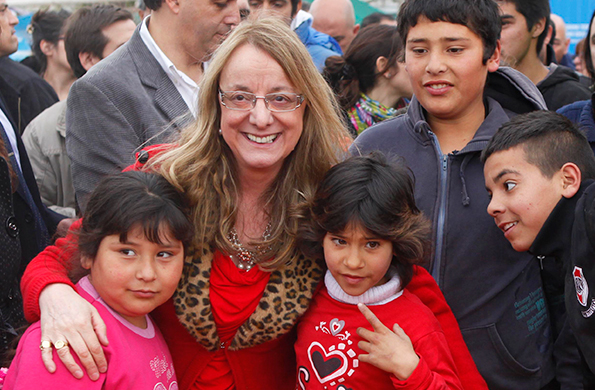La ministra Alicia Kirchner sostuvo una teleconferencia con la provincia de Entre Ríos.