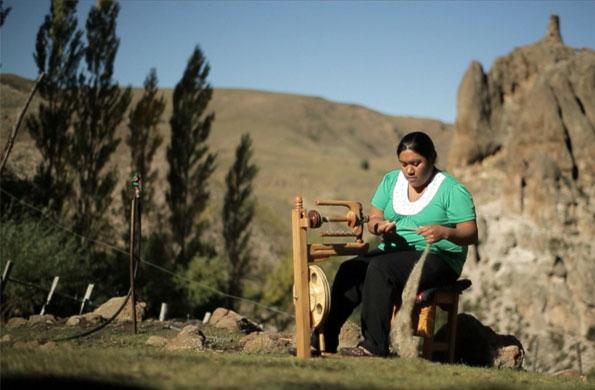 El emprendimiento busca rescatar la tradición del pueblo mapuche.