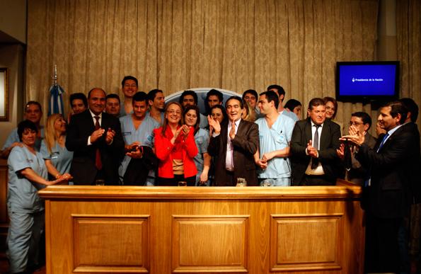 Se cumplieron diez años de la puesta en marcha del proyecto Patria Solidaria.