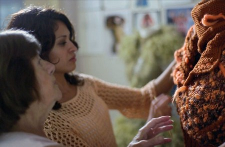 Alcira y Noelia, son las fundadoras de este proyecto de tejidos artesanales.