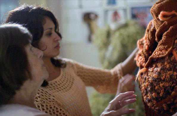 Alcira y Noelia son las fundadoras de este proyecto de tejidos artesanales.