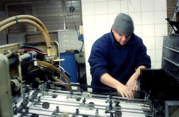 La empresa innovó en el uso de máquinas de imprenta, estando siempre a la vanguardia de la industria