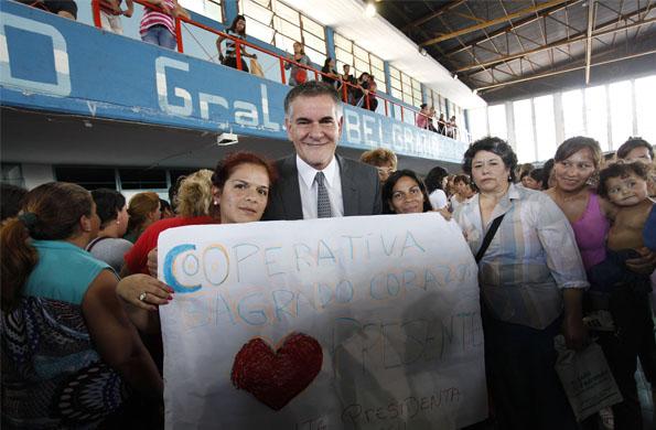 El acto fue en la provincia de Tucumán y participaron más de 3 mil mujeres.