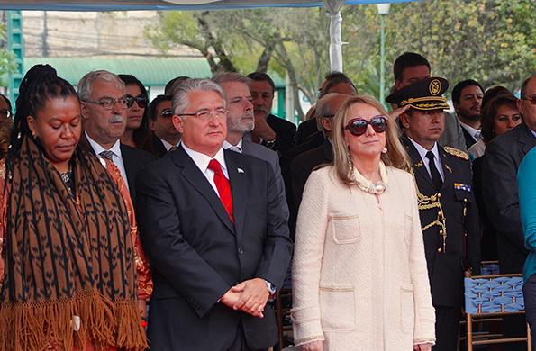Alicia Kirchner destacó la unidad de los pueblos latinoamericanos.