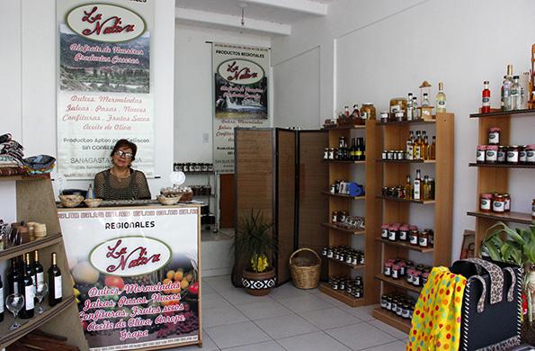 La Nativa es un emprendimiento que elabora productos típicos de la región riojana.