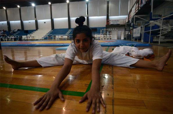 Antonella es tan solo un ejemplo de los miles de jóvenes que aman practicar judo.