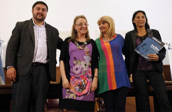 La ministra también destacó el valor del Monotributo Social.
