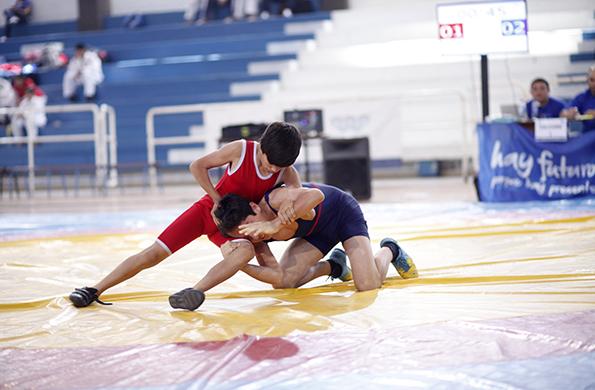 Este joven deportista desea obtener una medalla en este certamen y competir en otros países.