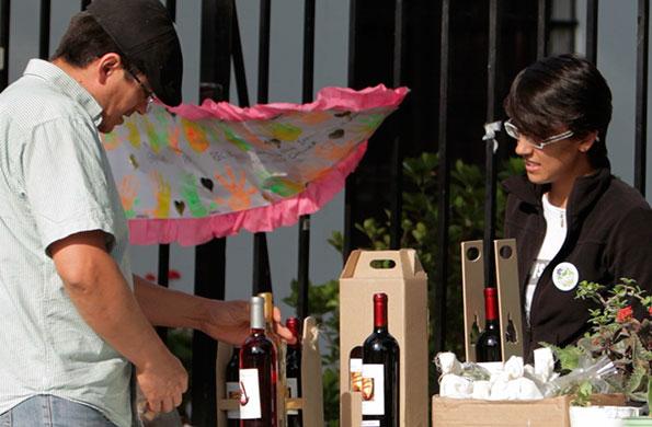 Esta iniciativa se dedica a fabricar distintos tipos de vinos artesanales.