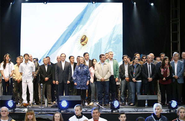 Alicia Kirchner dio inicio a la segunda etapa de las competencias finales de los Juegos Evita.