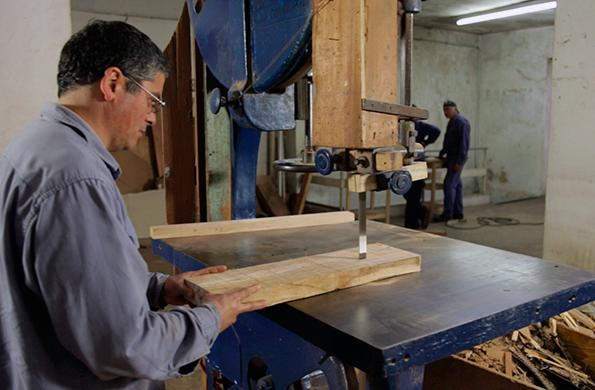Los fundadores buscan transmitir oficios del sector metalúrgico a trabajadores de Argentina Trabaja.