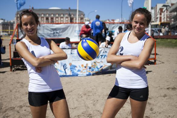 Las jóvenes fueron parte de la selección cordobesa y sueñan con competir a nivel internacional.