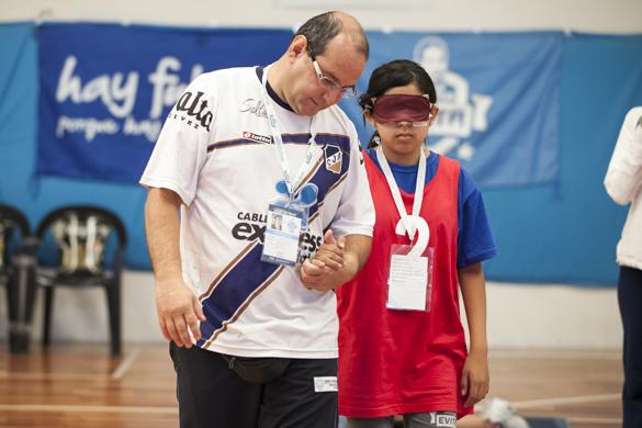 Natalia es la primera persona en la familia que se dedica al deporte.
