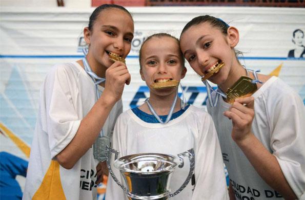 Luna Fernández tiene 11 años y triunfó en los Juegos Nacionales Evita 2014.