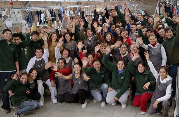 Actualmente, Calzados Vichino está compuesto por 75 personas.